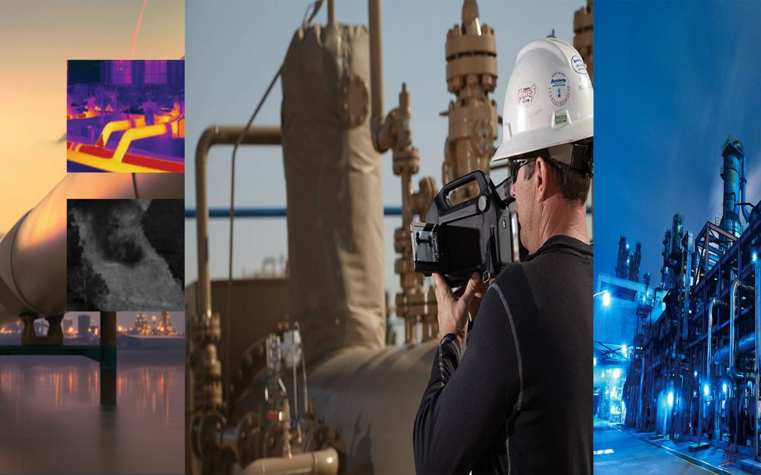 FLIR optical gas imaging camera helps improve environment and safety