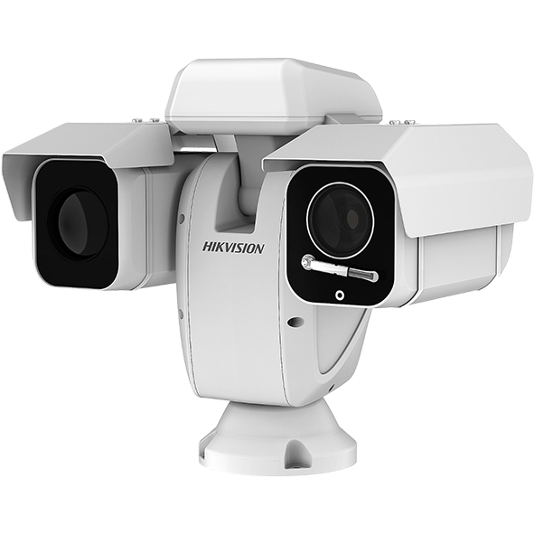 HIKVISION Thermal + Optical Bi-Spectrum Network Positioning System for PERIMETER SECURITY
