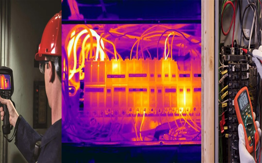 PREVENT DISTRIBUTION SYSTEM FAILURE AND BREAKDOWN WITH THERMAL IMAGING